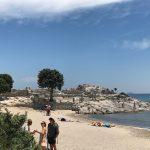 Agios Stefanos Beach: Reste antiker Tempel (Insel Kos)