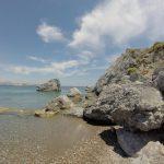Kristallklares Wasser am Strand Agios Stefanos Beach (Insel Kos)