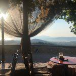 Bergdorf Zia: Ausblick bei einem Kaffee (Insel Kos)