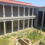 Innenhof der Casa Romana in Kos Stadt