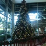 Airport Punta Cana Weihnachtsbaum