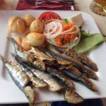 Fisch mit kanarischen Kartoffeln (Gran Canaria)