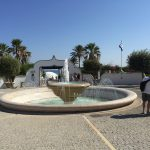 Brunnen in den Thermen von Kallithea auf der griechischen Insel Rhodos.