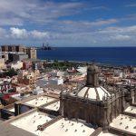 Las Palmas: Blick auf den Hafen (Gran Canaria)