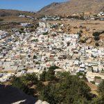 Das Dorf Lindos auf der griechischen Insel Rhodos