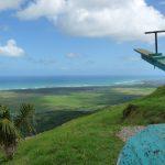 Atemberaubender Blick vom Montaña Redonda in der Dominikanischen Republik.