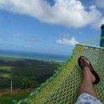 Hängematte auf dem Montaña Redonda in der Dominikanischen Republik