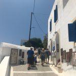 Dorf Nikia auf der Vulkaninsel Nisyros in der Ägäis