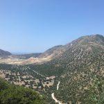 Ausblick auf der Vulkaninsel Nisyros in der Ägäis