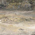 ter der Vulkaninsel Nisyros in der Ägäis