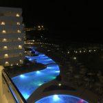 Poollandschaft im Elysium Resort & Spa Hotel auf Rhodos.