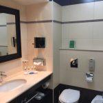 Badezimmer im Elysium Resort & Spa Hotel auf Rhodos.
