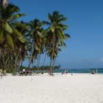 Canton de la Playa auf der Insel Saona im karibischen Meer