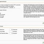 Sophos UTM Blick auf die OTP Einstellungen im WebAdmin