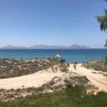 Tam Tam Beach Bar: Blick auf das Meer & die Türkei (Insel Kos)