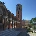 Kirche St. Nektarios in Faliraki auf der griechischen Insel Rhodos