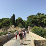 Beeindruckende Landschaft in Rhodos (Stadt) auf der gleichnamigen griechischen Insel.