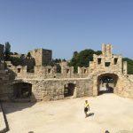 Stadtbefestigung von Rhodos (Stadt) auf der gleichnamigen griechischen Insel.