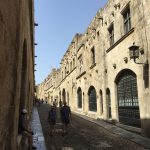 Altstadt in Rhodos (Stadt) auf der gleichnamigen griechischen Insel.