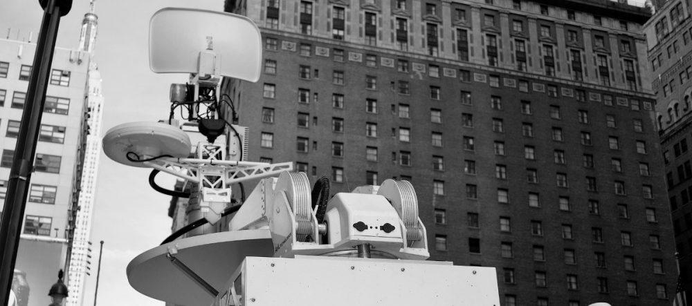Wireless LAN / Satellitenschüssel