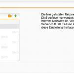 DNS-Dienst der Schnittstelle in der Sophos UTM zuweisen