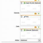 Firewallregel in der Sophos UTM (verweigern)